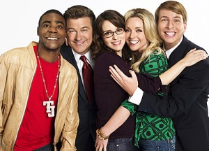 Fey and her 30 Rock peeps.