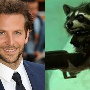 [RUMOR]: Bradley Cooper Up for Voice of Rocket Raccoon in Guardians of the Galaxy?
