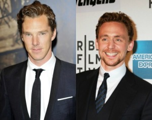 Cumberbatch and Hiddleston