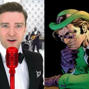 Justin Timberlake Wants to Play theRiddler