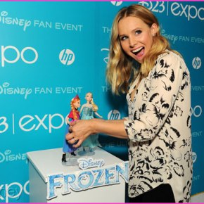Kristen Bell Talks Frozen at D23