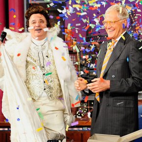 Bill Murray Dons Liberace Get-Up to Help David Letterman Mark Late Show's 20th Anniversary