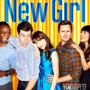 Fantastic Moving Poster for New Girl Season 3 Debuts