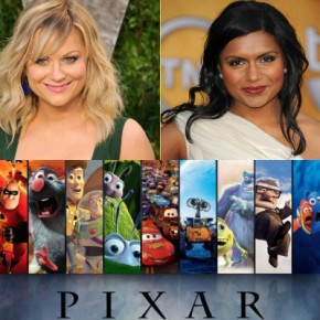 Pixar Scores Major Celebrities for Upcoming Voice Roles