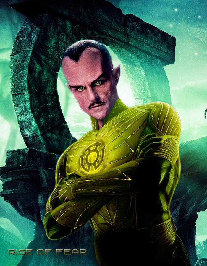 Sinestro Breaking Ring