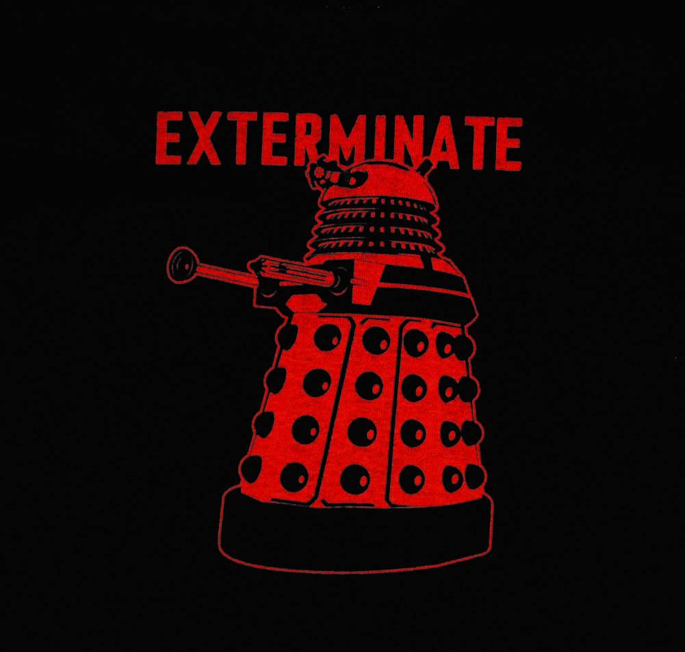 Exterminate Dalek German Dalek Exterminate on Pinterest