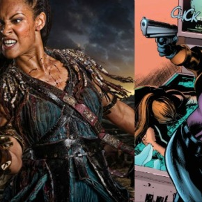 'Spartacus' Star Cynthia Addai-Robinson Cast as Amanda Waller in 'Arrow'