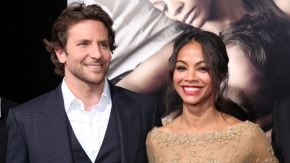 Zoe Saldana and Bradley Cooper Reunite for GOTG
