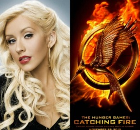 """[UPDATE]: Christina Aguilera's 'Catching Fire' Song """"We Remain""""Debuts"""