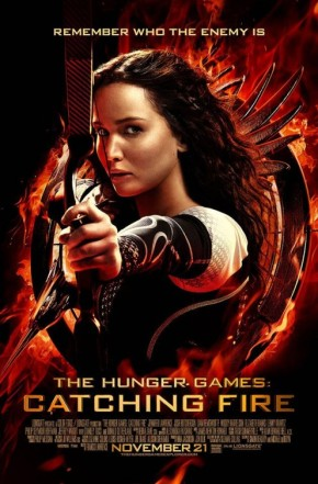 """New 'Catching Fire' Poster Debuts; Reminds Us of """"TheEnemy"""""""