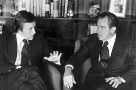 Frost and Nixon pictured here.