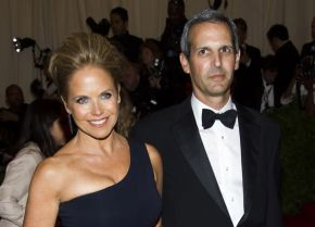 Katie Couric Shows Off Gargantuan Engagement Ring