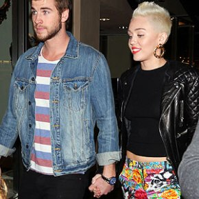 Oh No! Miley Un-Follows Liam on Twitter