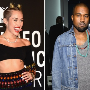 "Kanye West and Miley Cyrus Team Up for ""Black Skinhead"" Remix"