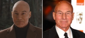 Look at this sh*t! Why did they even do this?! Patrick Stewart has literally looked the same since Star Trek. I can't.