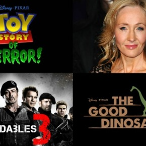 Movie News Roundup: 'Toy Story of Terror', 'The Expendables', J.K. Rowling and More