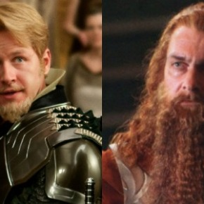New 'Thor: The Dark World' Posters Showcase Fandral andVolstagg