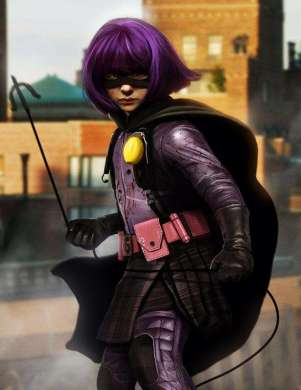 1. Hit-Girl: She's only eleven and she's kicking major ass...and let's not forget that she was portrayed on screen by Chloë Grace Moretz (who also happens to be a bad ass).