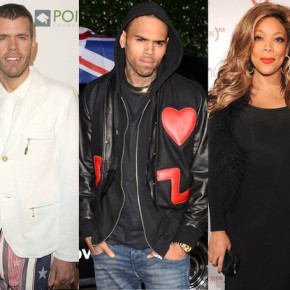 Chris Brown Enters Twitter Feud With Perez Hilton And Wendy Williams