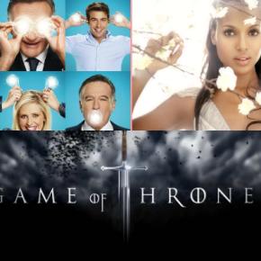 TV News Roundup: 'The Crazy Ones', Kerry Washington, andMore