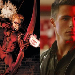 'Arrow' Unveils First Look at Colton Haynes as Arsenal