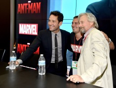 "Marvel's ""Ant-Man"" Booth Signing During Comic-Con International 2014"