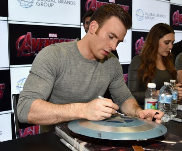 "Marvel's ""Avengers: Age Of Ultron"" Booth Signing During Comic-Con International 2014"