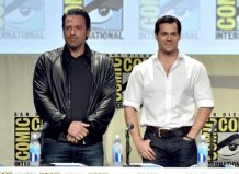 Ben Affleck and Henry Cavill (Batman v. Superman: Dawn of Justice)