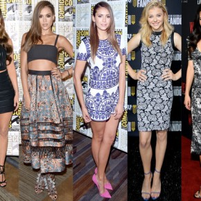 Celebrities and Fashion Take Over Comic-Con 2014