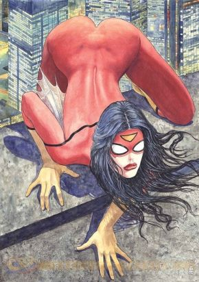 Controversial Spider-Woman Cover Canned by Marvel: What Took Them So Long?