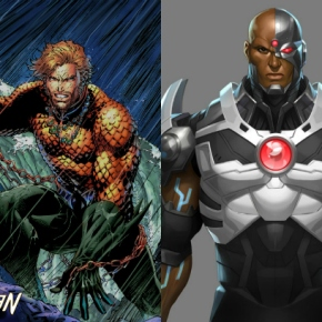 Toy Review: Cyborg and Aquaman Play Arts Action Figures