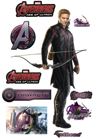 The-Avengers-2-Age-of-Ultron-Fathead-Decal-Hawkeye-Stickers