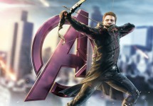 The-Avengers-2-Age-of-Ultron-Promo-Art-Hawkeye-Logo