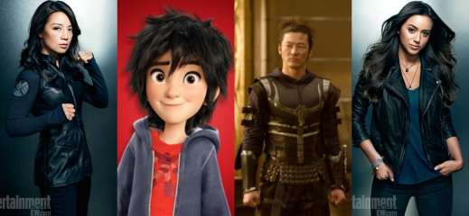 Asians in the MCU
