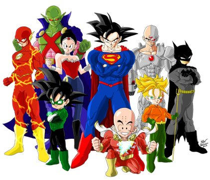 crossover_dragon_ball_z___justice_league_by_drmax82-d8keaq8