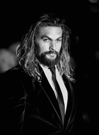 LONDON, ENGLAND - MARCH 22: (EDITORS NOTE: Image has been digitally manipulated) Jason Momoa arrives for the European Premiere of 'Batman V Superman: Dawn Of Justice' at Odeon Leicester Square on March 22, 2016 in London, England. (Photo by Mike Marsland/WireImage)